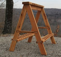 """Safe """"muzzle-up"""" long barrel gun storage for your hunting cabin or shooting range. My husband made this awesome """"Range-Rack"""" it holds 16 long barrel guns. Perfect when we break birds with friends! www.williamsridgestudio.com"""