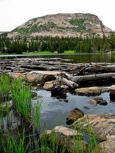 Family friendly hike in Uinta mountains. Hiked to this lake during a thunderstorm, it was a little scary and extremely awesome! Outdoor Fun, Outdoor Travel, Vacation Trips, Dream Vacations, Cool Places To Visit, Places To Go, Travel Around The World, Around The Worlds, Utah Hikes