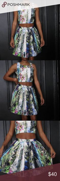 Moon Boutique 2 Piece Hey guys! This was never worn. Moon Boutique is a gracious little boutique and this two piece is fresh and new. I wear a size small 5'3 115lbs. Dresses