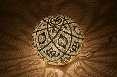 Lush lamp ball