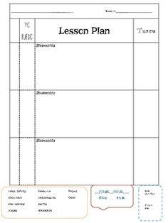 1000 images about lesson planning on pinterest lesson plan templates spanish lesson plans. Black Bedroom Furniture Sets. Home Design Ideas