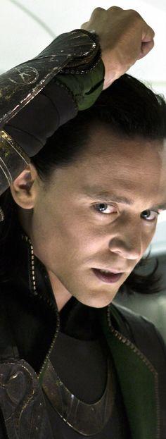 """Tom Hiddleston """"Loki"""" Massive 1280 x 3393 image. Paintshopping by me. From http://turntofactsmyfantasies.tumblr.com/post/93890573405/amatasera-i-wish-i-was-the-moon#notes"""