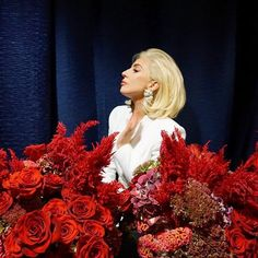 What's a girl to do, but red white and blue? #OneAmericaAppeal Lady Gaga 10/22/2017