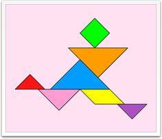 Tangram solutions - People - www.tangram-channel.com