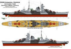 Admiral Hipper. 1940