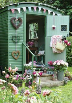 Fancy potting shed