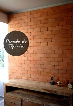 Mini-Omelett-Muffins - New Ideas - New Ideas Brick In The Wall, Brick Wall, Apt Ideas, Scandinavian Home, Home And Living, Sweet Home, New Homes, Construction, Interior Design
