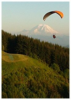 Seattle Paragliding -- Poo Poo point, literally two miles from my house! Poo Poo Point, Jackson Hole Wy, Let's Have Fun, Paragliding, Favorite Pastime, Seattle Washington, Get Outside, Fiji, Hunters