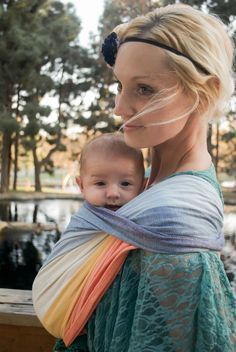 Hello Mess: Babywearing photoshoot.