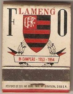 1954 LOGO CLUBE DE REGATAS DO FLAMENGO