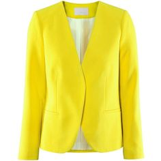 H&M GEKLEURDE BLAZERS   ❤ liked on Polyvore featuring outerwear, jackets, blazers, blazer, yellow blazer jacket, yellow blazer, h&m jackets, blazer jacket and yellow jacket