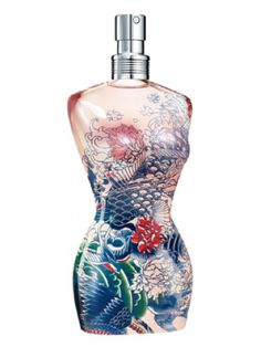 Classique Summer 2013 Jean Paul Gaultier perfume - a fragrância Feminino 2013 Jean Paul Gaultier Parfum, Jean Paul Gaultier Classique, Perfume Jean Paul, Perfume Floral, Best Perfume, Donna Karan, Fashion Sketches, Soap Dispenser, Lotion