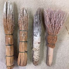 mark making tools - Brushes . Catherine White