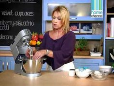 Sharon Glass' 'Food In A Flash' TV series Episode 9 of 13 - Quick Bakes Ron Glass, Flash Tv Series, Home Channel, Velvet Cupcakes, Cooking Videos, Inspire, Meals, Baking, Recipes