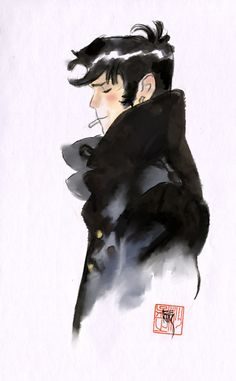 Corto Maltese by Man Arenas. http://man-arenas.tumblr.com http://en.wikipedia.org/wiki/Corto_Maltese ★ || CHARACTER DESIGN REFERENCES (https://www.facebook.com/CharacterDesignReferences & https://www.pinterest.com/characterdesigh) • Love Character Design? Join the #CDChallenge (link→ https://www.facebook.com/groups/CharacterDesignChallenge) Share your unique vision of a theme, promote your art in a community of over 25.000 artists! || ★