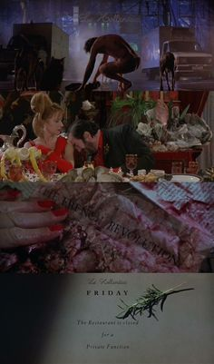The Cook, the Thief, His Wife & Her Lover by Peter Greenaway