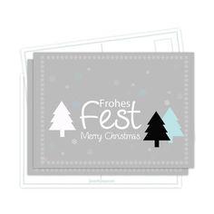 Weihnachtskarten *Frohes Fest*