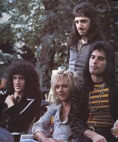 Freddie Mercury, Brian May, Roger Taylor, John Deacon