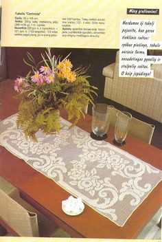 World crochet: Tablecloth 116
