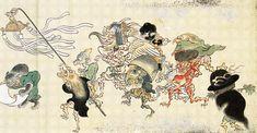 百鬼夜行 Night Parade of One Hundred yokai