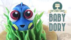 Finding Dory cake topper: baby Dory - YouTube