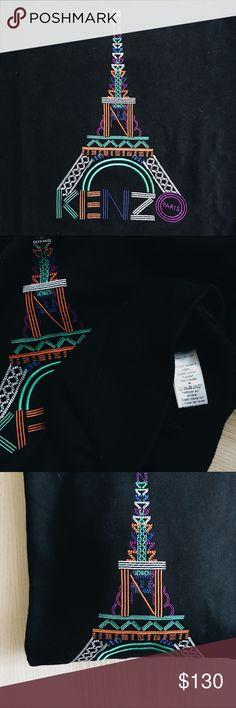 Kenzo Eiffel Tower Sweatshirt Kenzo Eiffel Tower Sweatshirt. Made in Portugal. Almost new. Kenzo Shirts Sweatshirts & Hoodies