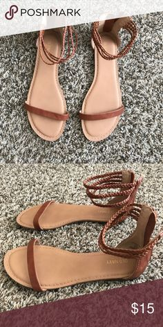 brown sandals adorable brown sandals, perfect for summer! Shoes Sandals