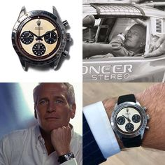 [Paul Newman] Today was a special day - I got to wear THE Paul Newman Daytona Pocket Watches, Wrist Watches, Watches For Men, Paul Newman Daytona, Rolex Daytona, Special Day, Omega Watch, How To Wear, Watches
