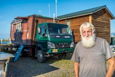 This 75-Year-Old Explorer Travels The World, Collecting Experiences In His Amazing House Truck