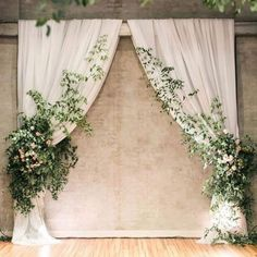 simple romantic white and greenery wedding ceremony backdrop ideas simple romantic white and greenery wedding ceremony backdrop ideas. ceremony greenery simple romantic white and greenery wedding ceremony backdrop ideas Rustic Wedding Backdrops, Ceremony Arch, Wedding Ceremony Decorations, Wedding Centerpieces, Wedding Bouquets, Wedding Flowers, Backdrop Wedding, Wedding Aisles, Marriage Decoration