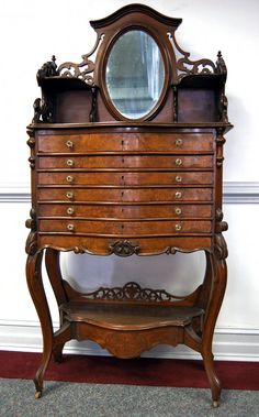 Gothic Dental Cabinet- I could use this for my tools - I need this Dream Furniture, Find Furniture, Unique Furniture, Victorian Furniture, Vintage Furniture, Vintage Dressers, Old Mansions Interior, Old Tool Boxes, Dental Cabinet