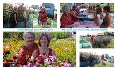 Met dank aan Kitty Mertz een mooie collage van ons #Flowerpower #Zomerevent.