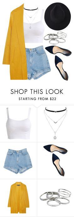 """1337."" by asoul4 on Polyvore featuring Jessica Simpson, Cole Haan, Rochas, Kendra Scott, hat and blazer"
