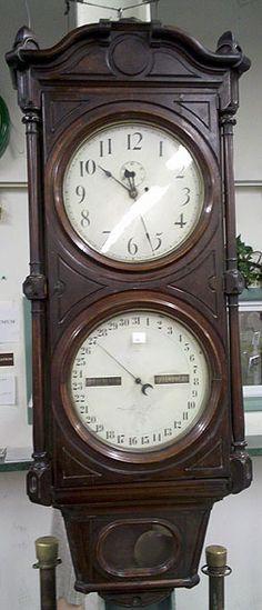 1876 Renaissance Revival clock.
