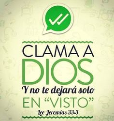 Clama a Dios
