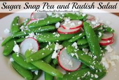 ... | Roasted broccoli parmesan, Sugar snap peas and Easy side dishes