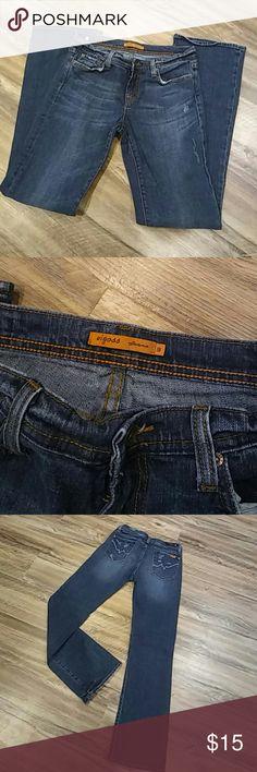 Vigoss distressed jeans Very cute Vigoss distressed jeans in great used condition. Vigoss Jeans Boot Cut