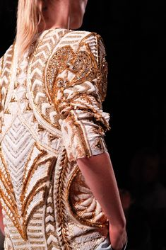 Balmain Spring 2012 Ready-to-Wear Fashion Show Details