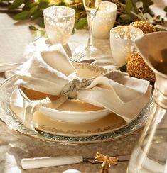 f59650ba2a Detalle de servicio de mesa navideño. Decoraciones navideñas en la mesa   navidaddetalles Deco Navidad