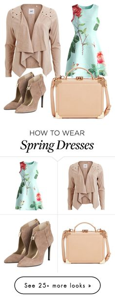 """Spring :)"" by charlotte-a-z on Polyvore featuring Chicwish, Object Collectors Item and Aspinal of London"