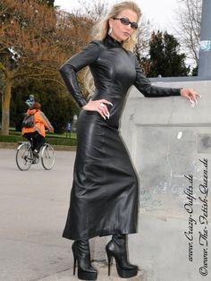 Leather Dress (Heike)