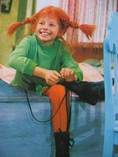 Pippi. Uno de mis personajes preferidos de la infancia.