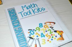 Math tool kids for Kinder and 1st grade!