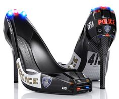 stiletto-police-shoes unusual   http://www.thefashionpolice.net/2010/02/stiletto-police-shoes-by-tim-cooper.html#