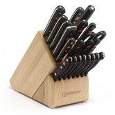 Found it at Wayfair - Gourmet 23-Piece Beech Knife Block Set