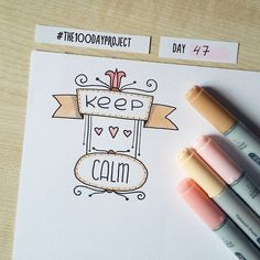 #100daysofdooodles2 #100dayproject #100daysproject #doodle #drawing #keepcalm #markers #copic #inspiration #instaart #рисунок #творчество #маркеры #вдохновение
