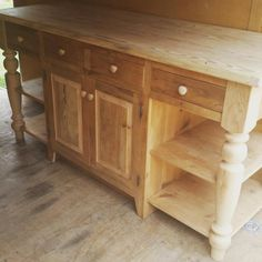 amish made reclaimed barn wood unfinished 6 u0027 kitchen island custom built please contact me and include your zip code for a shipping quote      rh   pinterest com