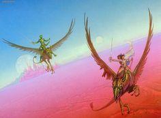 Michael Whelan - John Carter Of Mars