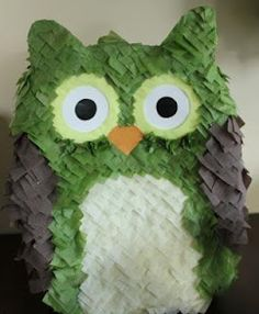 For the Owl lover's - Owl piñata. i believe i need this for my next birthday.