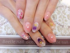 Nail Art - Beetle Nail : 八日市arte|チークネイル♡